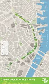 T Boston Map by Visiting The Greenway Rose Kennedy Greenway Conservancy