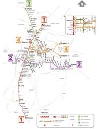Mexico Cities Map by Mexico City Metrobus Maplets