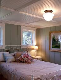 Bedroom Lighting Ideas Low Ceiling Gulfshoredesign Com Cottage Bedroom With Floor To Ceiling Painted