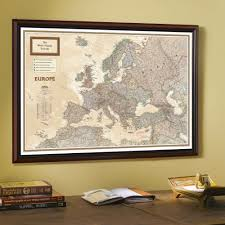Map Of Europe And Africa by 1915 Europe Map With Africa And Asia National Geographic Store
