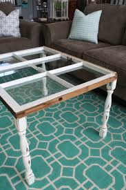 diy simple window coffee table