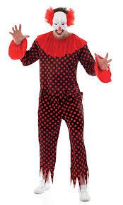 killer clown costume spirit halloween hell raiser chatterer teen scary halloween costume men
