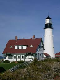 Decorative Lighthouses For In Home Use Visited This One In Portland Maine A Few Years Ago Lighthouses