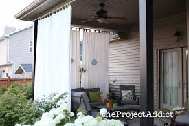 Diy Home Decor Ideas South Africa Decorating Exciting Outdoor Curtain Panels For Inspiring Outdoor