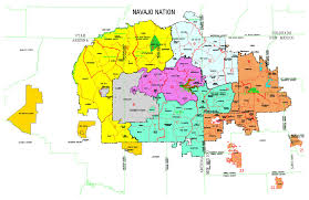 New Mexico County Map Maps Navajo Land Department
