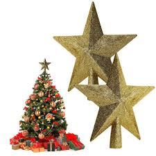 aliexpress com buy shiny christmas tree topstar red gold 15cm