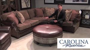 Carolina Leather Sofa by What We Love About Bradington Young Leather Furniture Youtube