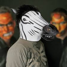 halloween costume mask horse head mask creepy animal halloween costume theater prop