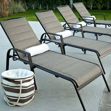 Mesh Patio Chair Innovative Aluminum Chaise Lounge With Outdoor Chaise Lounges