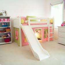 Diy Bunk Bed With Slide by Too Cute To Not Pin Marvelous Tent Low Loft With Slide
