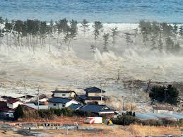 Así llegaba el tsunami a la costa japonesa