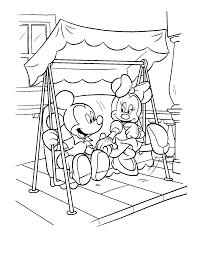 astonishing mickey mouse christmas coloring pages with mickey