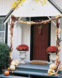 Decorative Garlands Home by Fall Harvest Decorating Martha Stewart