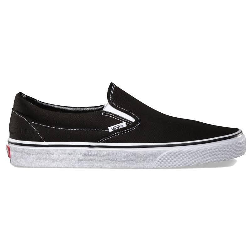 Vans Classic Slip-On (Black) Skate Shoes-11