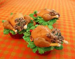 Stuffed Thanksgiving Turkey Stuffed Thanksgiving Turkey Cupcakes