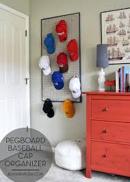 diy pegboard baseball cap organizer the perfect home for the diy pegboard baseball cap organizer the perfect home for the hat collection pegboard storage