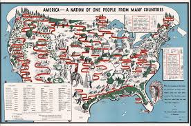 Color Coded Map Of Usa by 37 Maps That Explain How America Is A Nation Of Immigrants Vox
