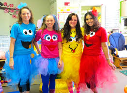 Cookie Monster Halloween Costumes by Sesame Street Costumes Adults Cookie Monster Elmo Big Bird Abby