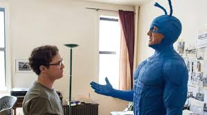 The Tick Costume Halloween by The Tick Amazon Pilot Review Youtube