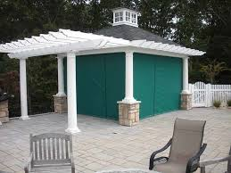 Outdoor Patio With Roof by Custom Enclosures For Your Deck Porch Or Patio
