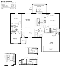 Stonewood Homes Floor Plans by Stonewood A In Palm Bay Holiday Builders