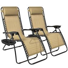 Mesh Patio Chair Best Choiceproducts Zero Gravity Chairs Tan Lounge Patio Chairs