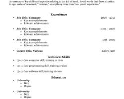 Breakupus Extraordinary Resume Templates With Lovely For Older Worker And Sweet Email Resume Sample Also Athletic