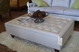 cream square ottoman coffee table med art home design posters cream square ottoman coffee table