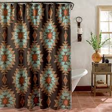 southwest shower curtains for the home cowgirl magazine