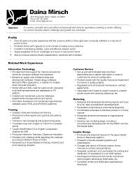 Best Resume Format For Quality Assurance by My First Resume Template
