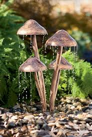 Mushroom Home Decor Outdoor Extravagant Modern Outdoor Fountain For Enhancing Your