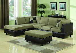 Green Sofa Living Room Ideas Adorable Black Green Leather Couch Meigenn