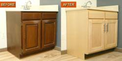Kitchen Cabinet Refacing Veneer Cabinet Re Facing Kits By Wisewood Veneer A Diy Project To Give