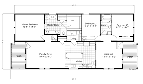 riviera ii tl30683b manufactured home floor plan or modular floor