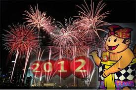DAFTAR TEMPAT PESTA KEMBANG API MALAM TAHUN BARU 2012 Suasana Tempat Perayaan Pesta Kembang Api di Malam Tahun Baru