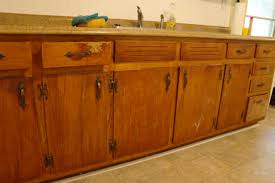 how to clean old wooden kitchen cabinets kitchen
