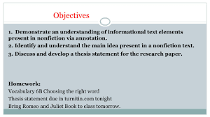 An Intro to Research Papers  Starring The Thesis AND WHY YOU     My Website