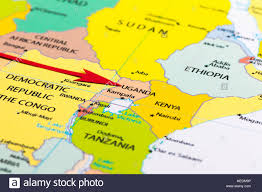 Map Of Kenya Africa by Africa Uganda Map Stock Photos U0026 Africa Uganda Map Stock Images