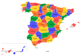Madrid Spain Map by Provinces Of Spain Wikipedia