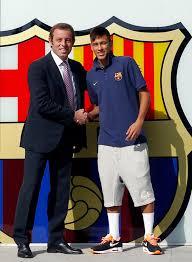 Neymar ke Barca