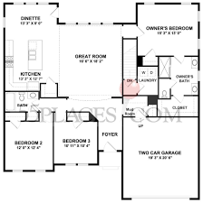 carolina place floorplan 1716 sq ft the villages at two