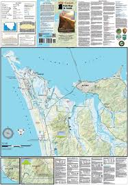 Fort Stevens State Park Map by Nw Coast Trail Map U0026 Guide Adventure Maps