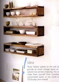 Kitchen Shelving 20 Diy Floating Shelves Shelves Kitchens And Walls