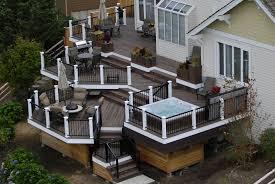 backyard decks and patios ideas west coast decks custom deck design u0026 construction seattle