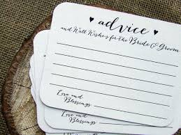 ideas about Wedding Advice Cards on Pinterest   Wedding