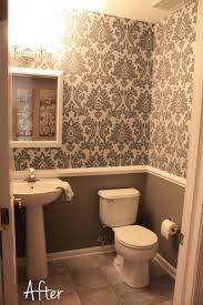 28 wallpaper bathroom designs traditional powder room jpg