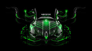 Neon Green Wallpaper by Monster Energy Wallpaper Monster Energy Images For Windows And