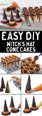 how to make halloween witch hat cupcake cones create these cute