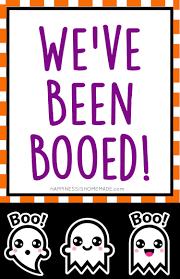 you u0027ve been booed we u0027ve been booed free halloween printables