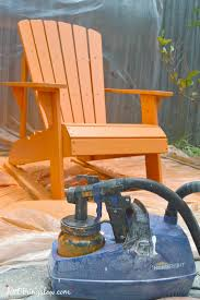 Outdoor Furniture Finish by Paint Outdoor Furniture With A Paint Sprayer